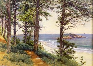 Alfred Thompson Bricher - Narragansett Seascape