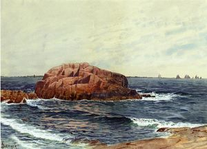 Alfred Thompson Bricher - Rocks near the Coast