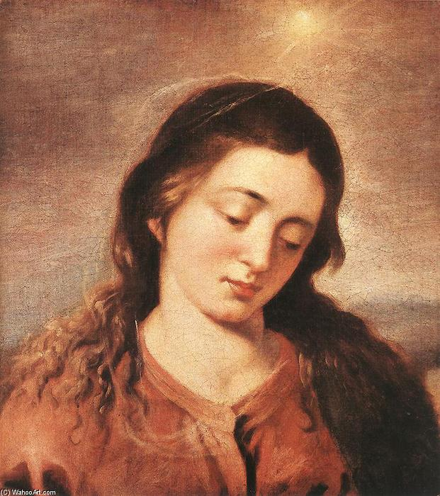 Buy Museum Art Reproductions | Mary, 1646 by Alonso Cano (1601-1667, Spain) | WahooArt.com