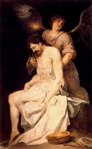Alonso Cano - The Dead Christ Supported by an Angel 1