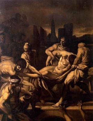 The Entombment by Alonso Cano (1601-1667, Spain) | Art Reproductions Alonso Cano | WahooArt.com