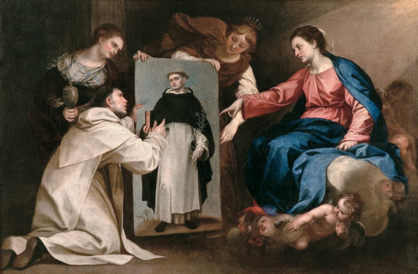 The Miracle of Saint Dominic in Soriano by Alonso Cano (1601-1667, Spain) | Painting Copy | WahooArt.com