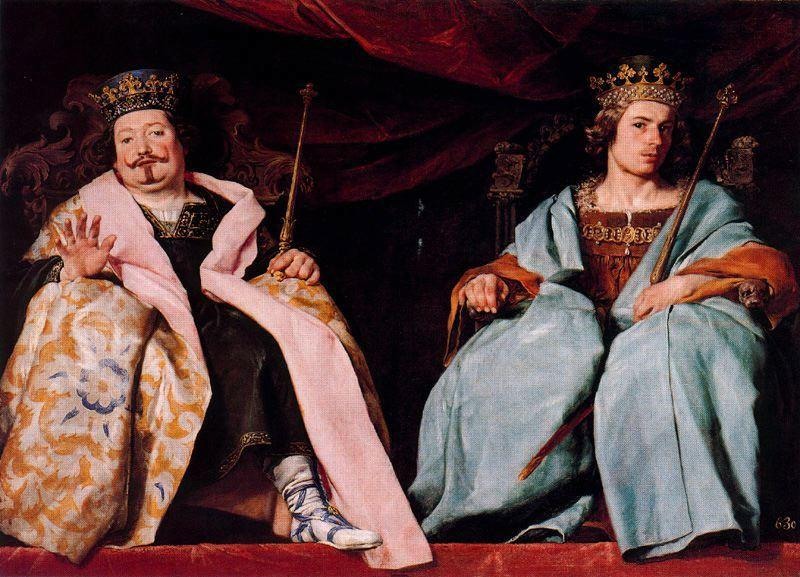Two kings of Spain by Alonso Cano (1601-1667, Spain) | Paintings Reproductions Alonso Cano | WahooArt.com
