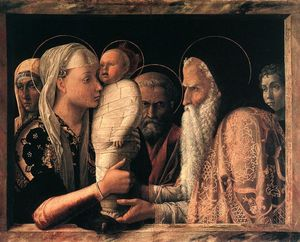 Andrea Mantegna - Presentation at the Temple
