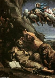 Annibale Carracci - The Temptation of St Anthony Abbot