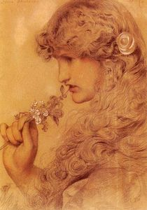 Anthony Frederick Augustus Sandys - Love's Shadow