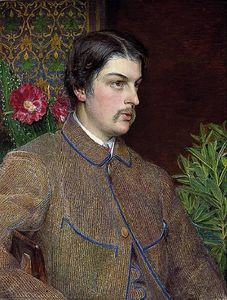 Anthony Frederick Augustus Sandys - Portrait of Philip Bedingfeld
