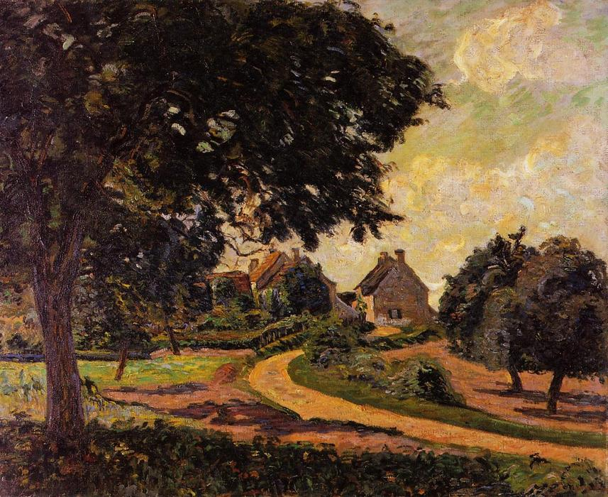 After the Rain by Jean Baptiste Armand Guillaumin (1841-1927, France) | Museum Art Reproductions Jean Baptiste Armand Guillaumin | WahooArt.com