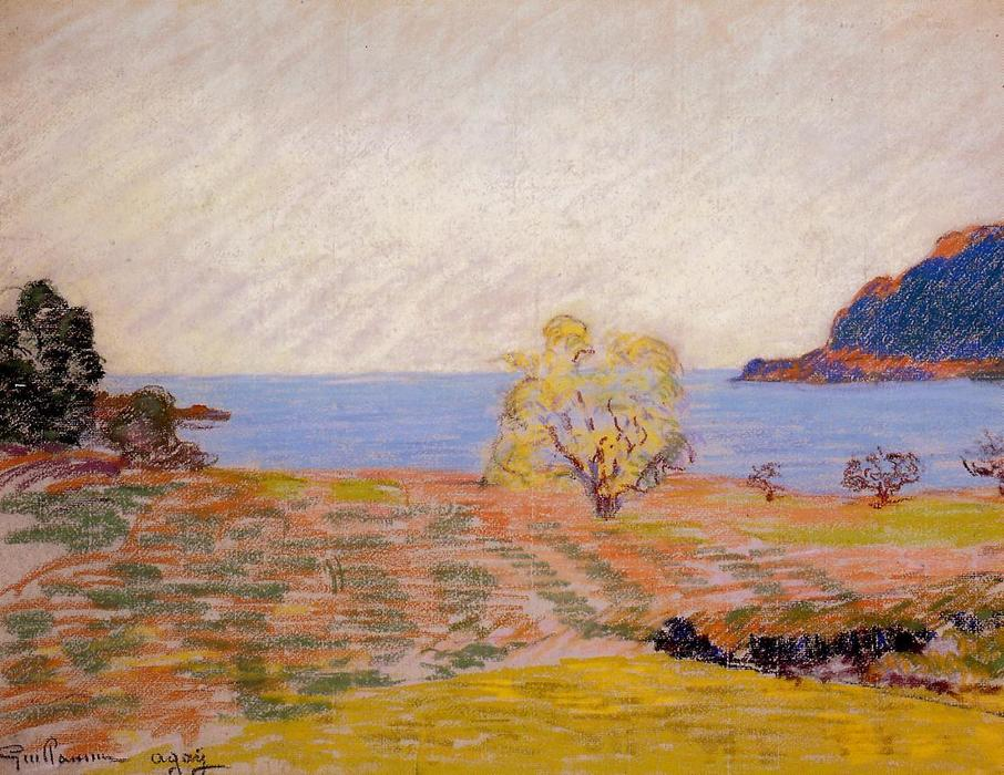 Agay Landscape by Jean Baptiste Armand Guillaumin (1841-1927, France) | Art Reproduction | WahooArt.com