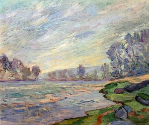 Jean Baptiste Armand Guillaumin - Banks of the River