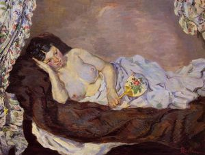 Jean Baptiste Armand Guillaumin - Reclining Nude
