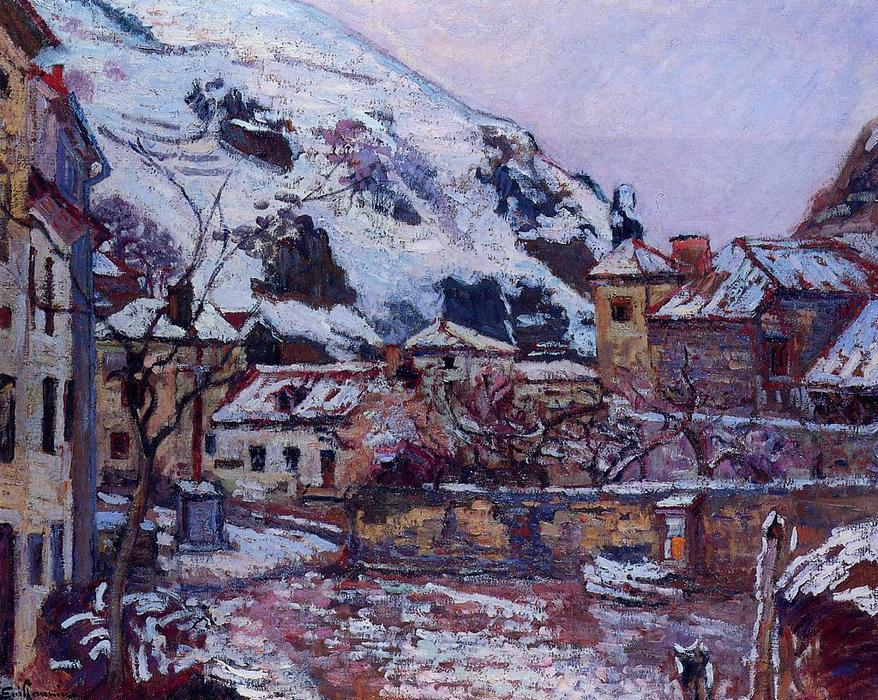 Saint--Julien-des-Chazes, Allier, 1895 by Jean Baptiste Armand Guillaumin (1841-1927, France) | Painting Copy | WahooArt.com