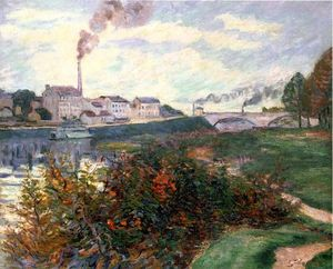 Jean Baptiste Armand Guillaumin - The Banks of the Marne