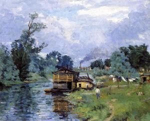 Jean Baptiste Armand Guillaumin - The Banks of the River