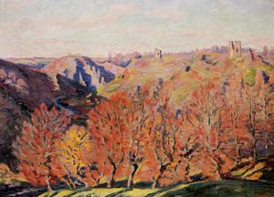Jean Baptiste Armand Guillaumin - The Ruins at Crozant