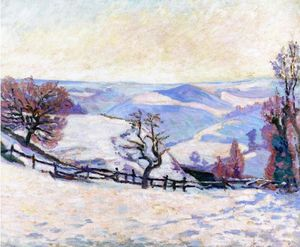 Jean Baptiste Armand Guillaumin - White Frost at Puy Barriou