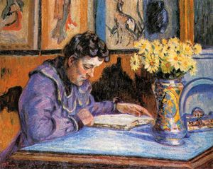Jean Baptiste Armand Guillaumin - Woman Reading