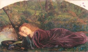 Arthur Hughes - The Rift within the Lute