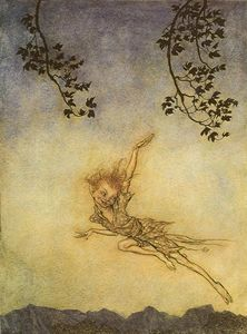 Arthur Rackham - A midsummer night's dream puck