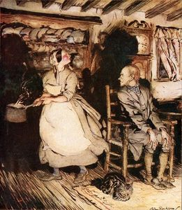 Arthur Rackham - Get Up and Bar the Door