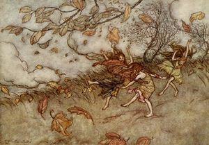Arthur Rackham - New scans from the 1906 edition