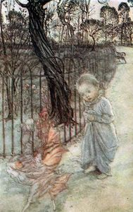 Arthur Rackham - Peter Pan in Kensington Gardens 1