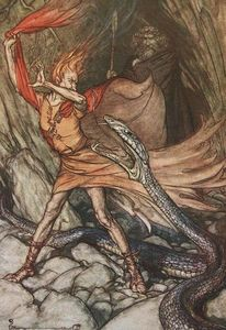 Arthur Rackham - The ring of the nibelung 12