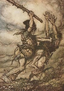 Arthur Rackham - The ring of the nibelung 15