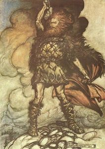 Arthur Rackham - The ring of the nibelung 16