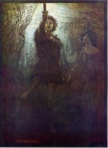 Arthur Rackham - The ring of the nibelung 21