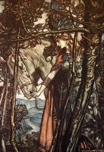 Arthur Rackham - The ring of the nibelung 24