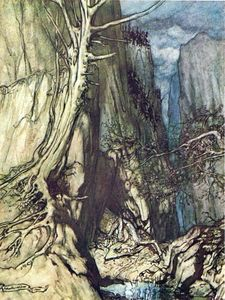 Arthur Rackham - The ring of the nibelung 30