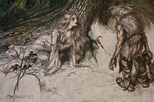 Arthur Rackham - The ring of the nibelung 39