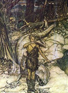 Arthur Rackham - The ring of the nibelung 45