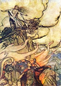 Arthur Rackham - The ring of the nibelung 52