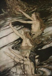 Arthur Rackham - The ring of the nibelung 61