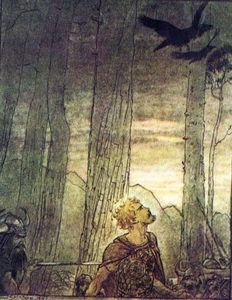 Arthur Rackham - The ring of the nibelung 62