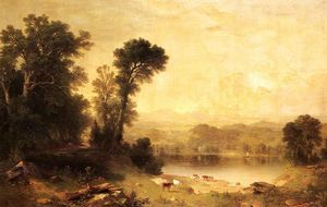 Asher Brown Durand - Pastoral scene