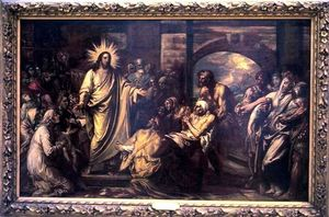 Benjamin West - Christ Healing the Sick in the Temple