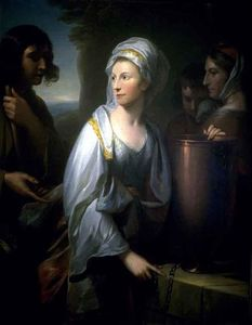 Benjamin West - Mary; Wife of Henry Thompson of Kirby Hall as Rebecca at the Well