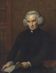 Benjamin West - Portrait of Dr Richard Price