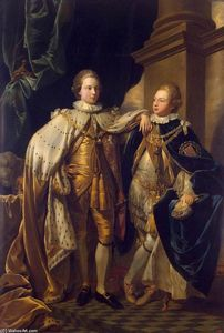 Benjamin West - Portrait of George, Prince of Wales, and Prince Frederick, later Duke of York