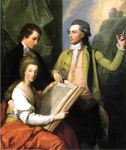 Benjamin West - Portrait of the Drummond Family