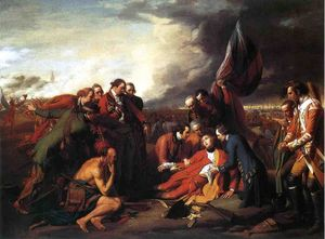 Benjamin West - The Death of General Wolfe - (Buy fine Art Reproductions)