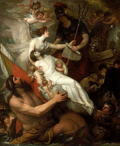 Benjamin West - The Immortality of Nelson