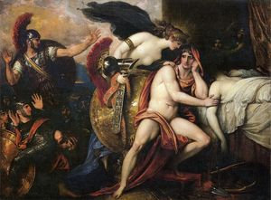 Benjamin West - Thetis Bringing the Armor to Achilles