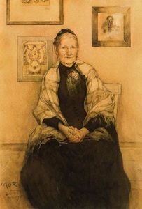 Carl Larsson - My Mother