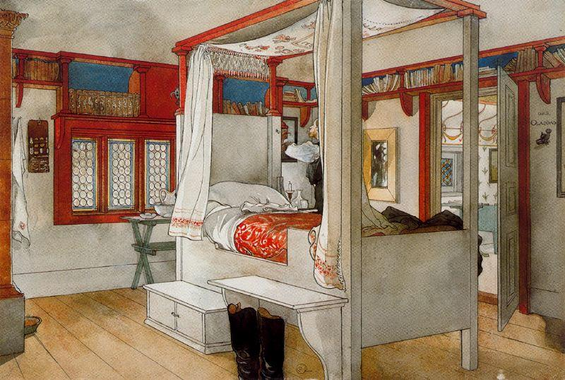 My Room by Carl Larsson (1853-1919, Sweden) | WahooArt.com