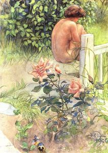 Carl Larsson - Rose And Back