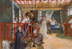 Carl Larsson - The Morning Party